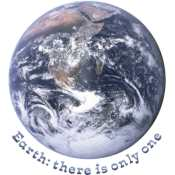 Earth: There is only one