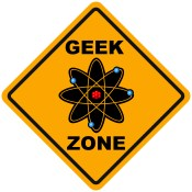 Geek Zone Sign