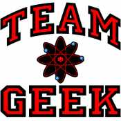 Team Geek (Black and Red)
