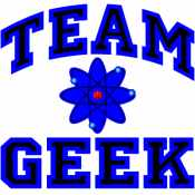 Team Geek (Blue and Black)